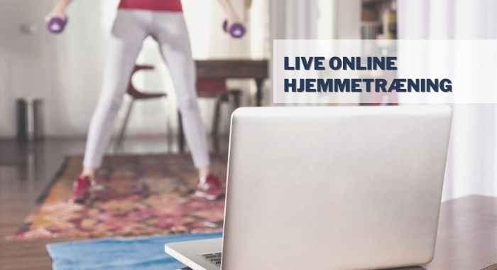 """Online kursus """"Hjemmetræningskuren"""""""