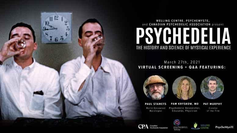 PSYCHEDELIA Virtual Screening Event