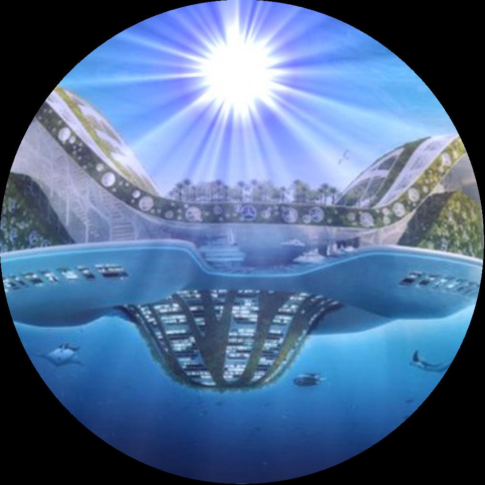 New earth vision sun circle
