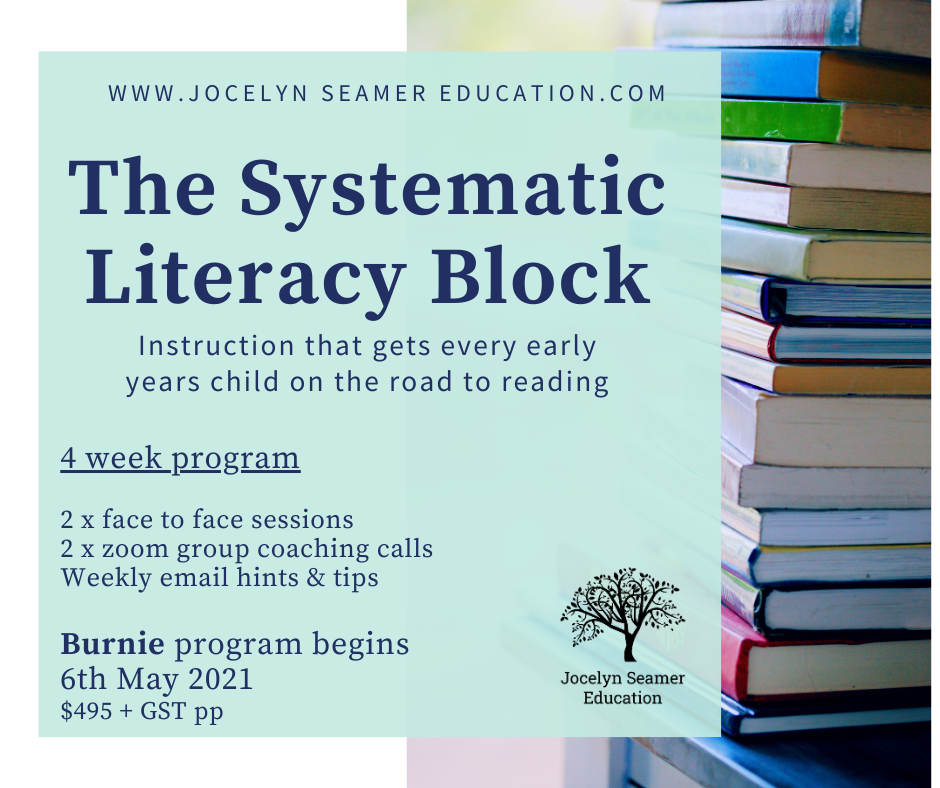 Systematic Literacy Block Picture