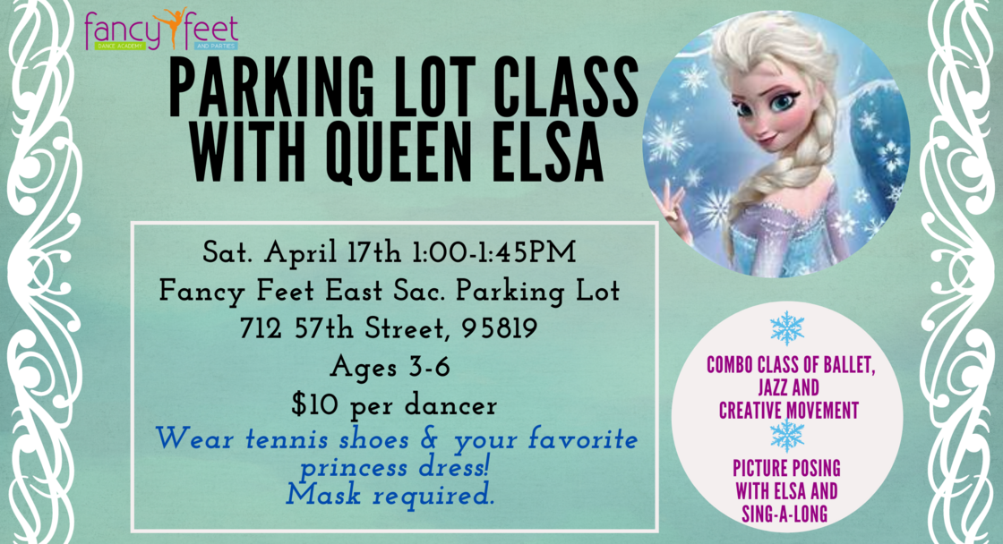 Parking Lot Class with Queen Elsa