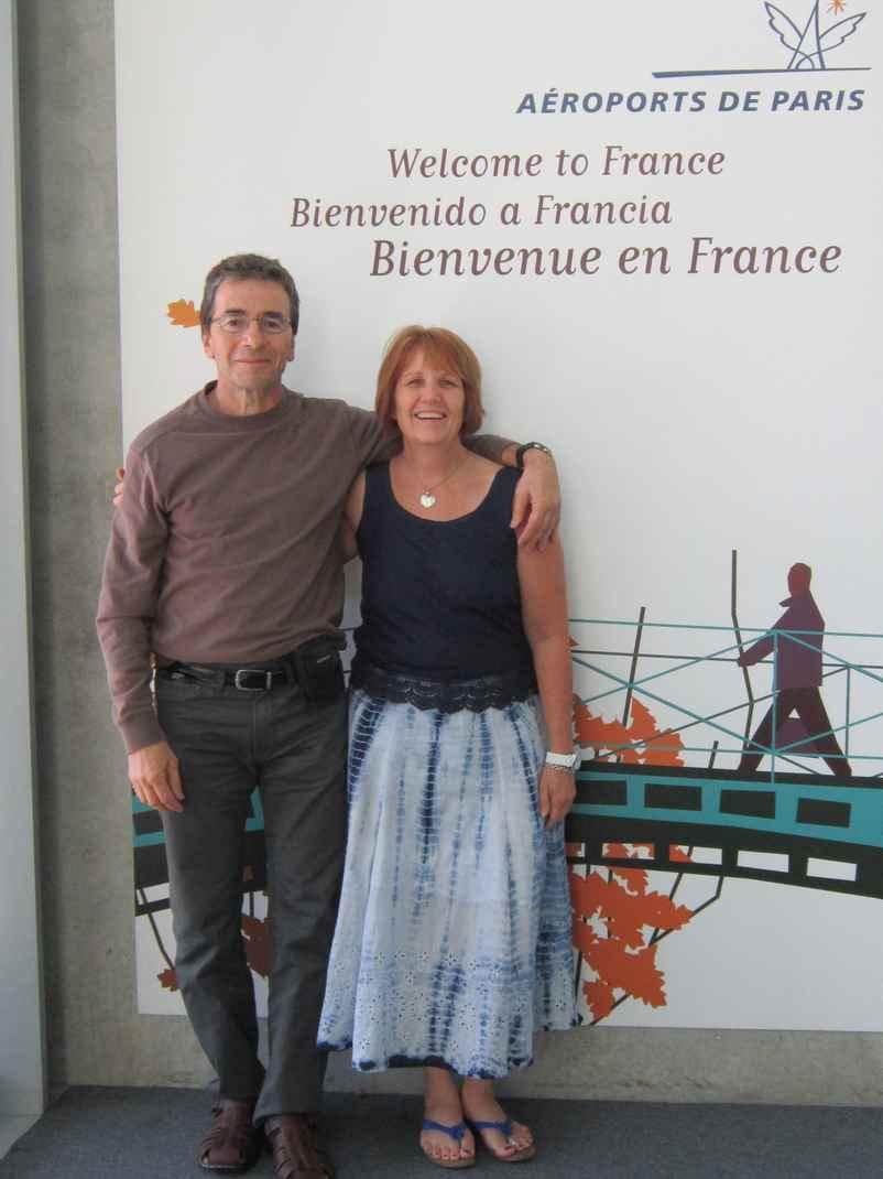 Rebecca and Terrance in Paris