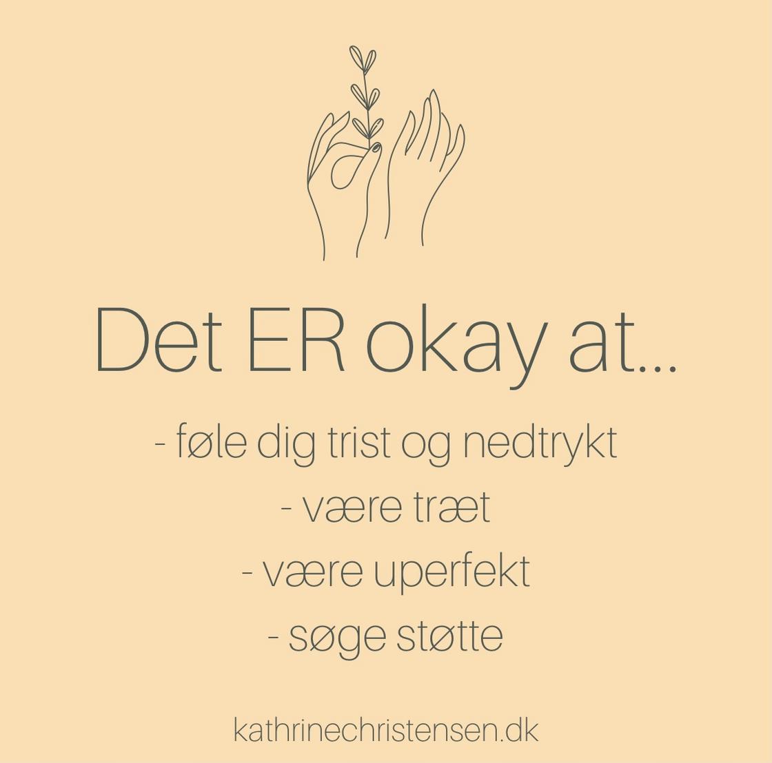 Det er okay at...
