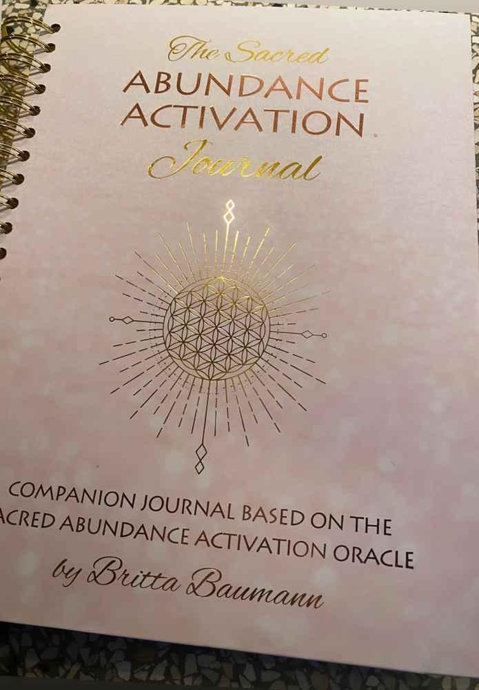The Sacred Abundance Activation Journal
