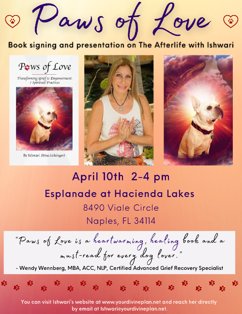 Paws of Love -Book signing