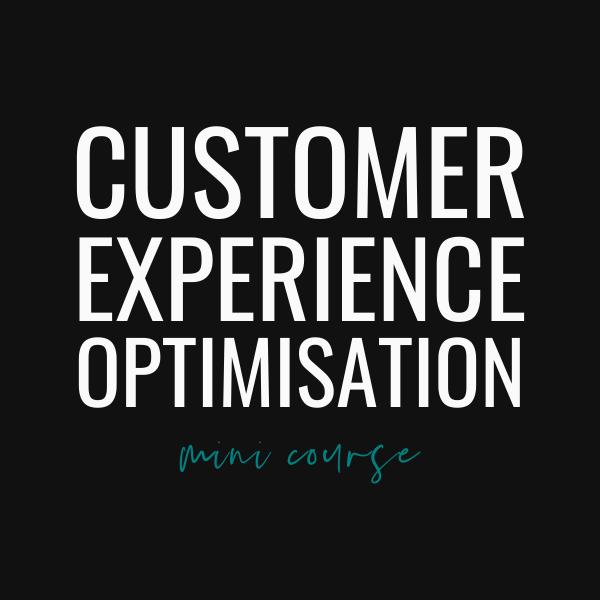 CX Optimisation Basics