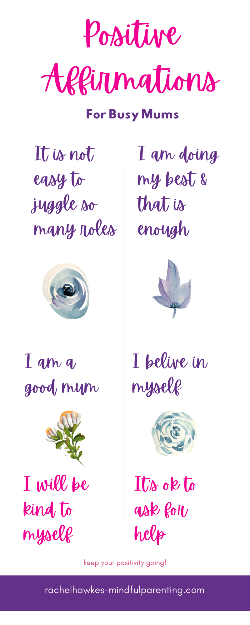 positive affirmations for busy mums info