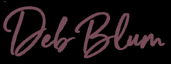 Deb Blum Signature