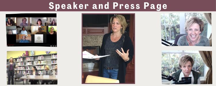 Press Kit and Speaker Header
