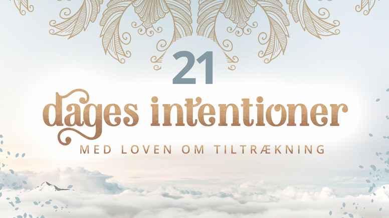 21 dages intentioner bliver til manifestationer