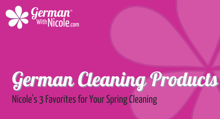 German Cleaning Products Spring Cleaning