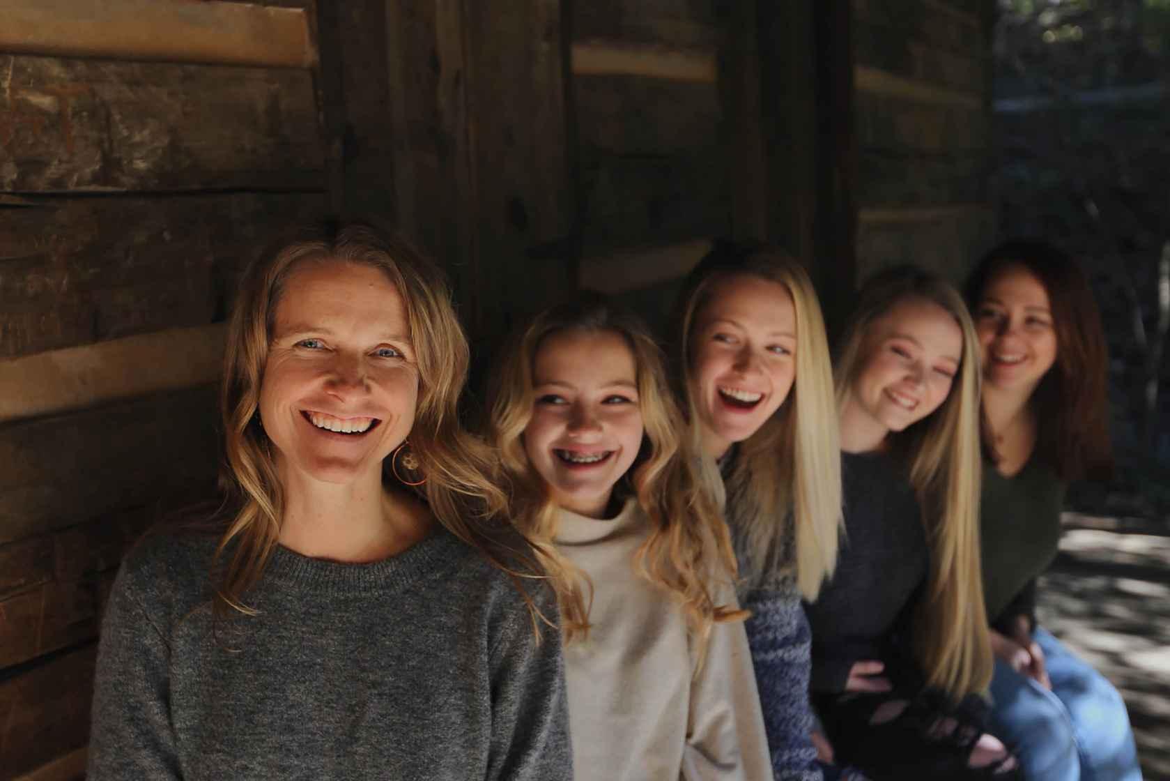Beth + Girls 4