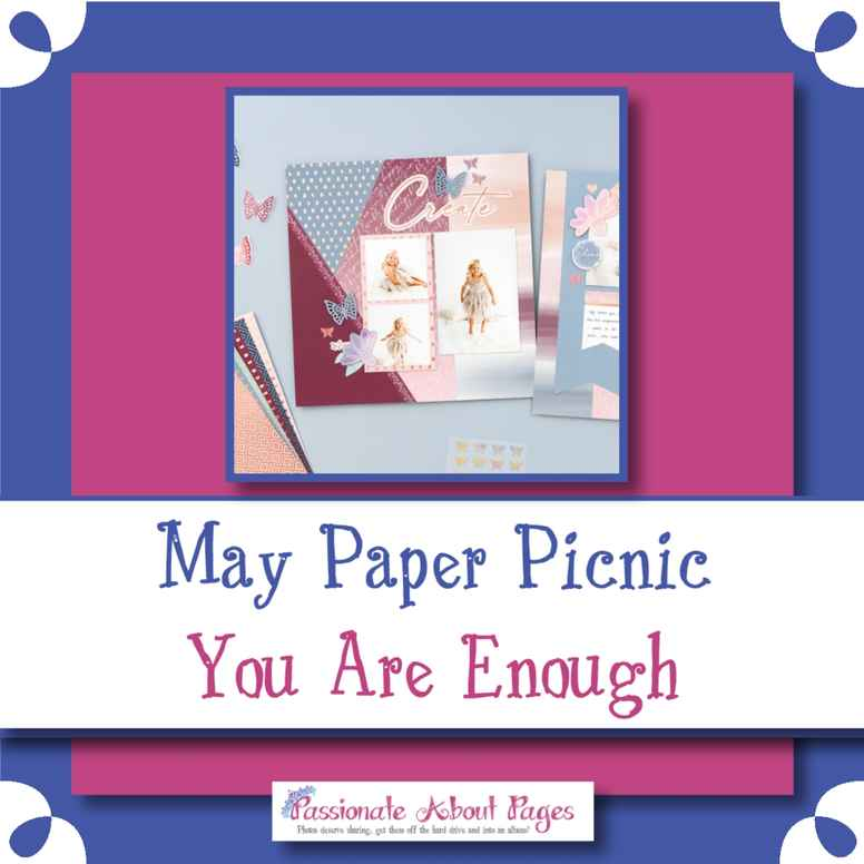 National Scrapbook Day - You Are Enough