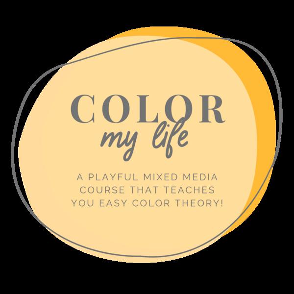 Color My Life new Logo Kellee Wynne Studios