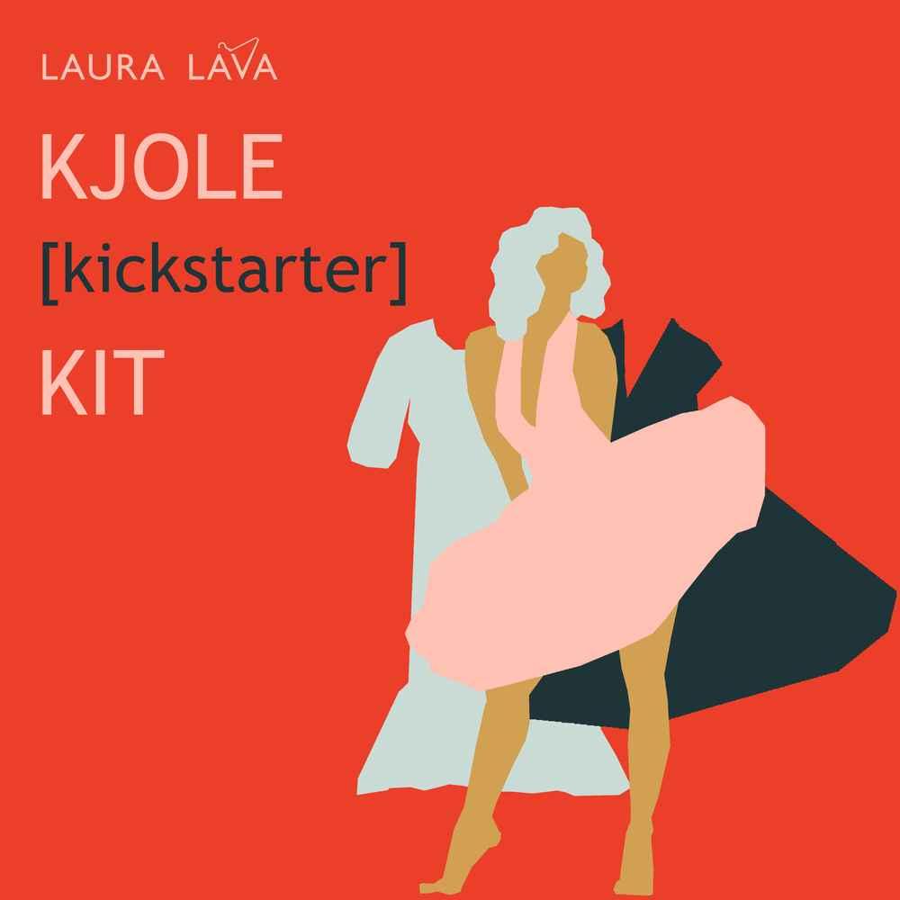 Kjole Kicktarter Kit 06 tekst