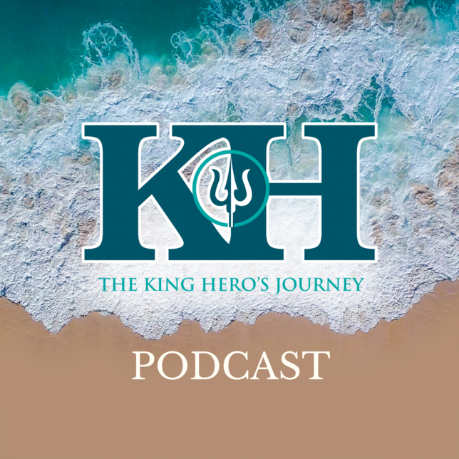 king-heros-journey-podcast-graphic