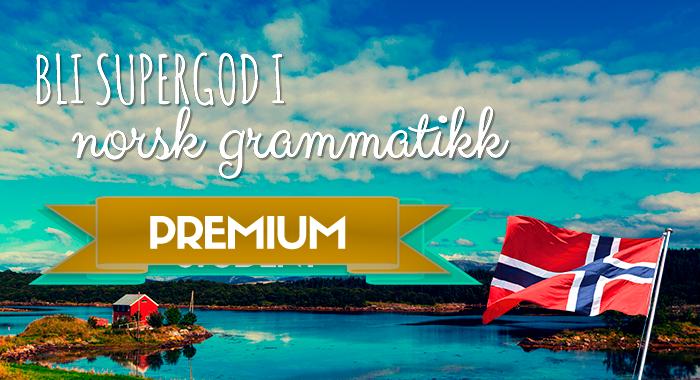 Bli supergod i norsk grammatikk (PREMIUM)