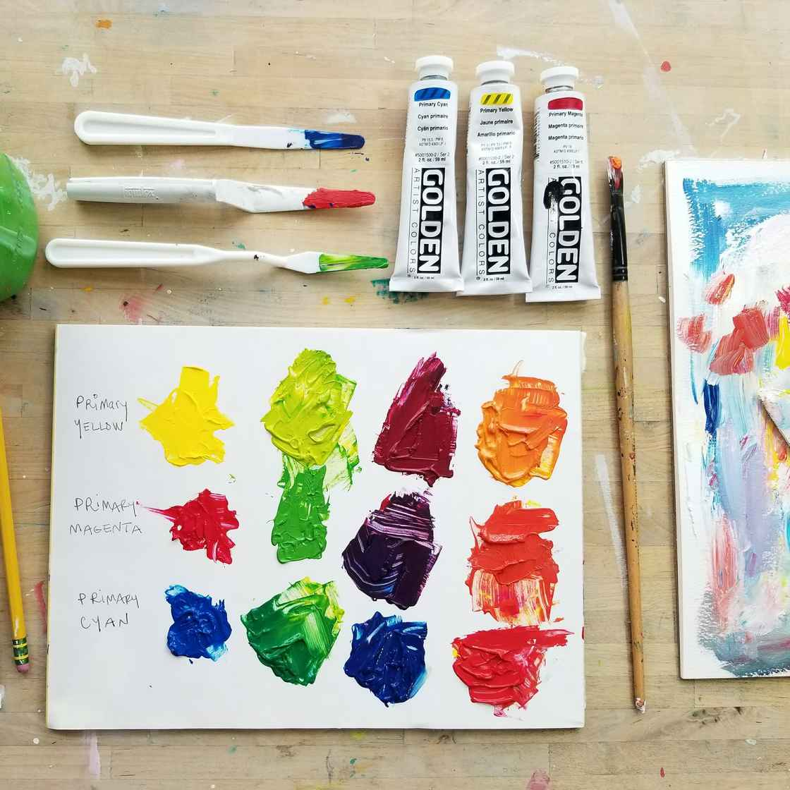 Kellee Wynne Studios Color My Life CML COlor Mixing (2)