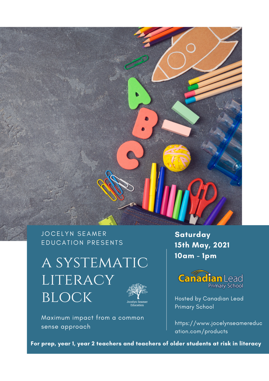 A Systematic Literacy Block Flyer