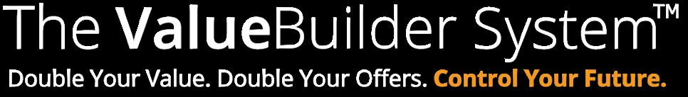 Value Builder logo w:orange