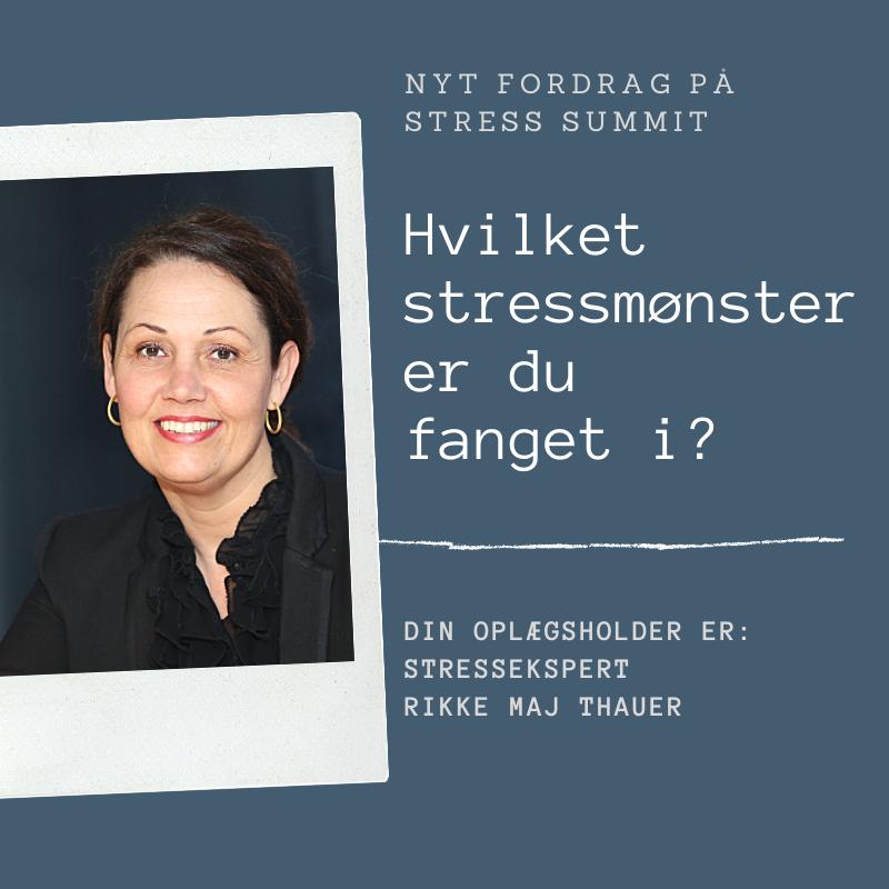 Foredrag_Hvilket stressmønster er du fanget i
