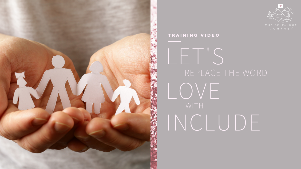Replace Love with Include Video Thumbnail