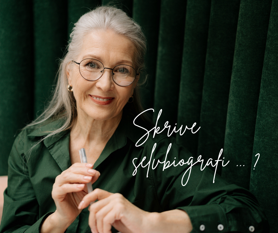 Annonse grønn dame biografi
