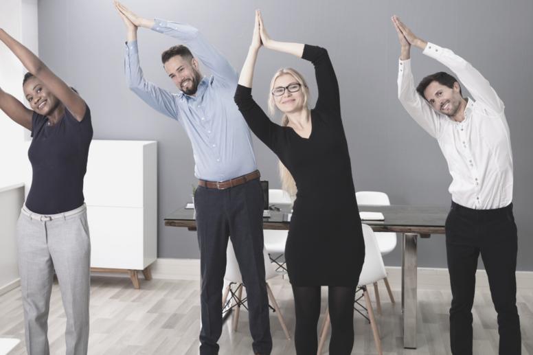 Bliv Kontor-Yoga Instruktør Online
