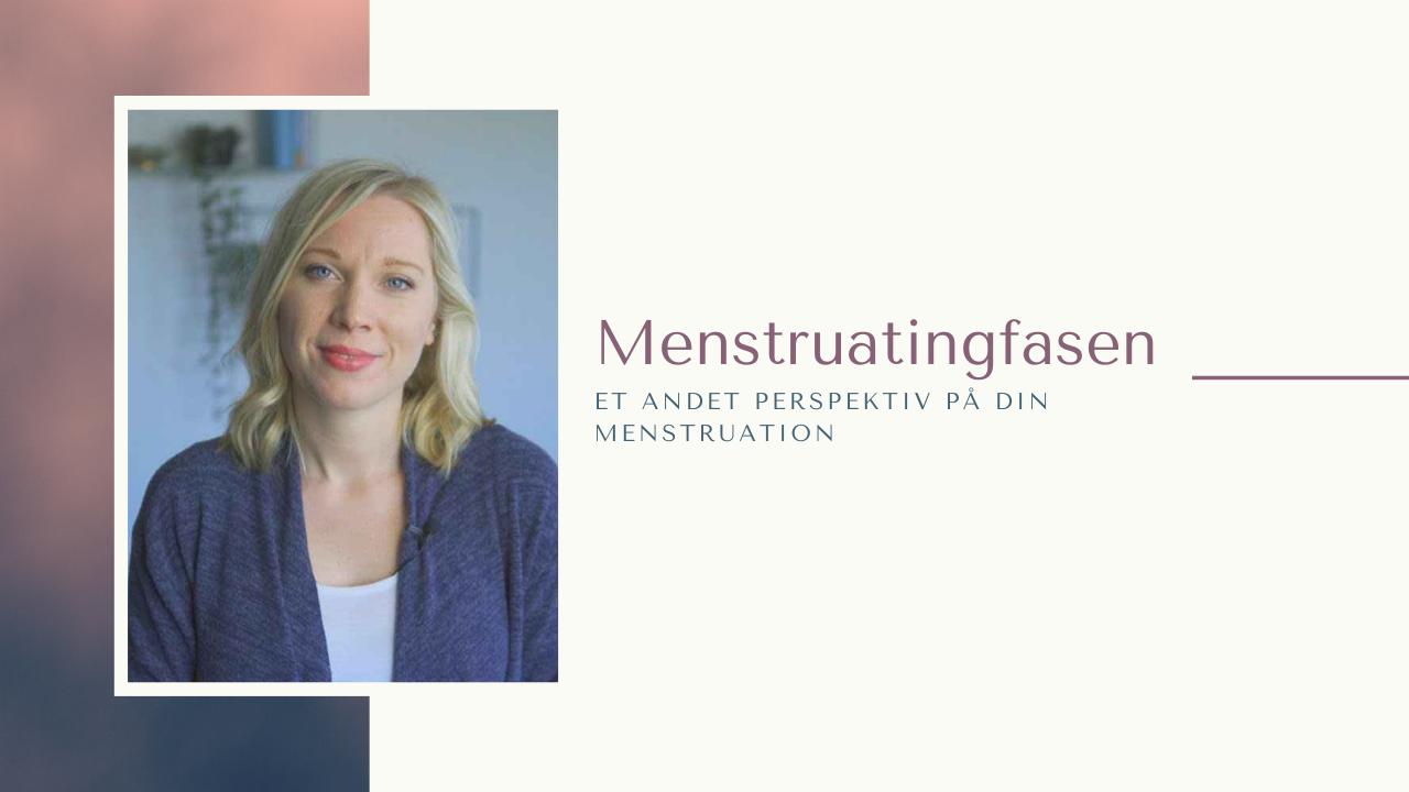 Menstruating