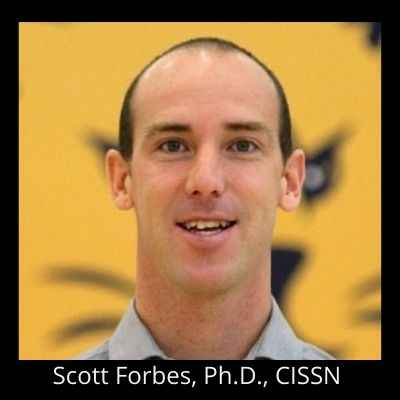 Scott Forbes, Ph.D., CISSN 400 x 400 Black Background