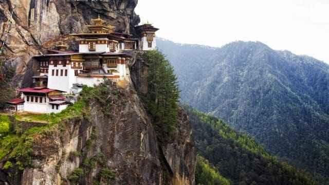 Meditationsretreat i Bhutan