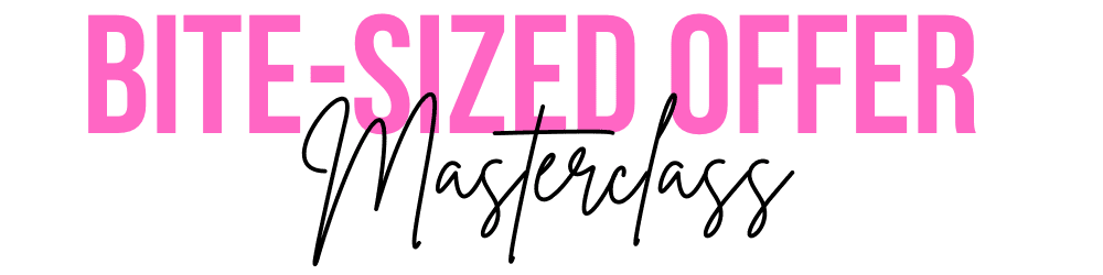 BIte Sized Offer Masterclass Logo