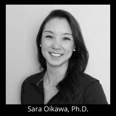 Sara Oikawa, Ph.D. 400 x 400 black background