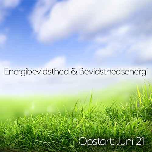 Energibevidsthed og bevidsthedsenergi - Juni 2021