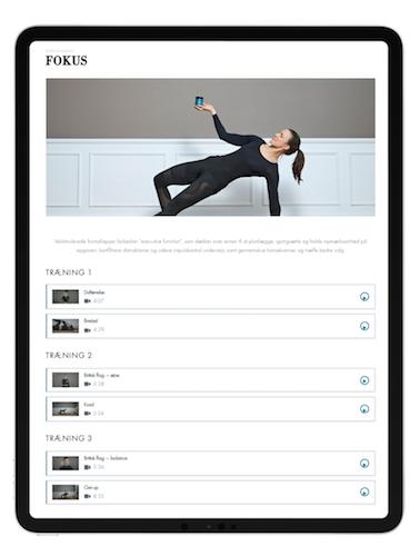 iPad program neuroflow startkit