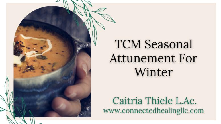 TCM Seasonal Attunement for Winter Masterclass