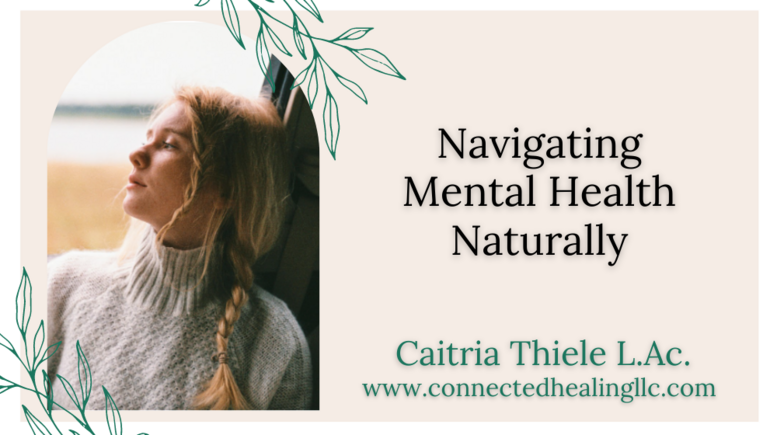 Navigating Mental Health Naturally Masterclass