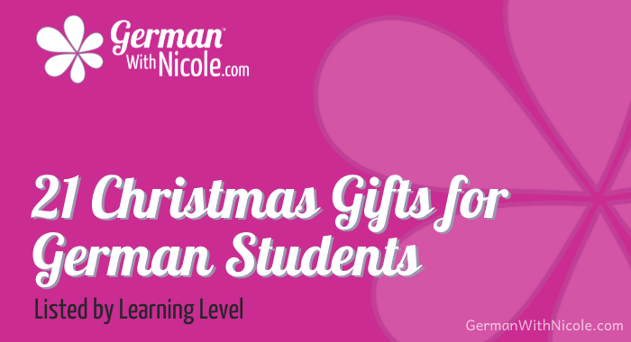 21 Christmas Gifts for German Students
