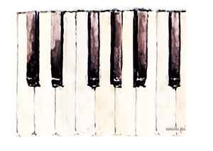 PianoEasy Keyboard 1 - Left Side - Print out