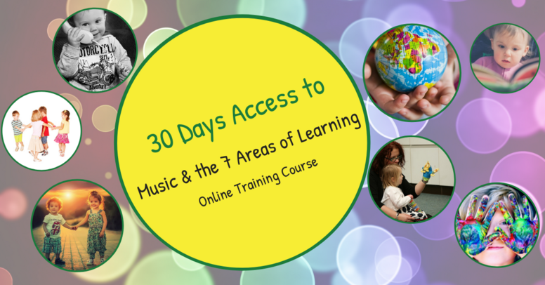 30 Days Access to Music and the 7 Areas of Learning