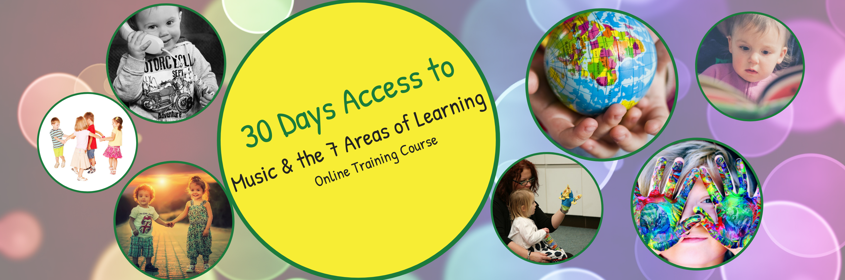 Header 30 Days Access to Music & the 7 Areas of Learning