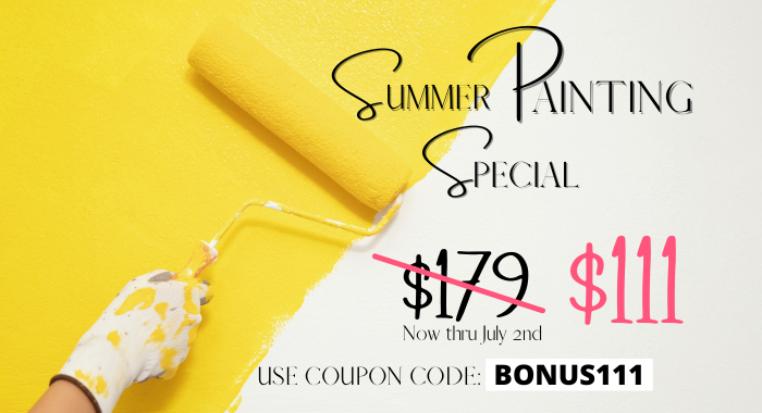 Summer Painting Special