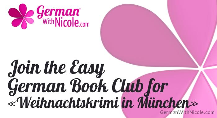 Join Easy German Book Club Weihnachtskrimi in München
