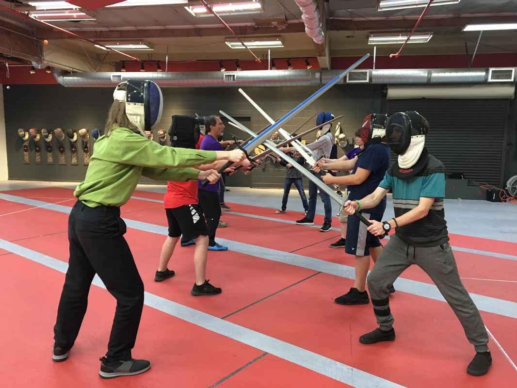 Friday Cross Swords