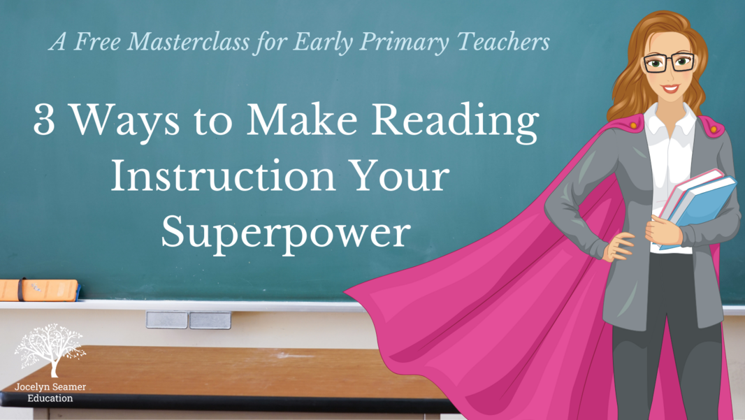 3 Ways to Make Reading Instruction Your