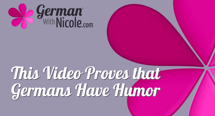 This Video Proves that Germans Have Humor