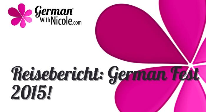 Reisebericht German Fest 2015!