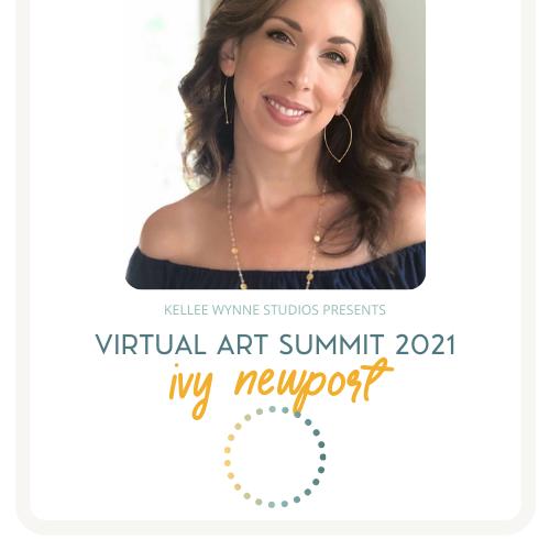 Ivy Newport Virtual Art Summit 2021