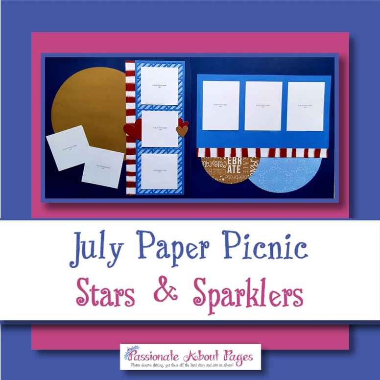 2107 Stars & Sparklers Online Paper Picnic