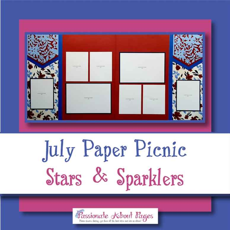 Stars & Sparklers Full Day Paper Picnic